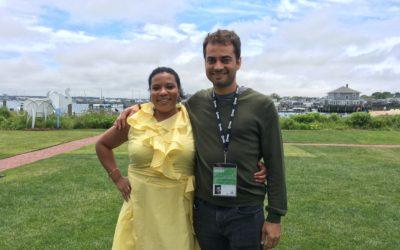 Interviewed at Nantucket Film Festival